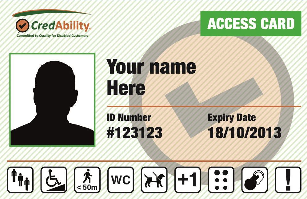 sample access card