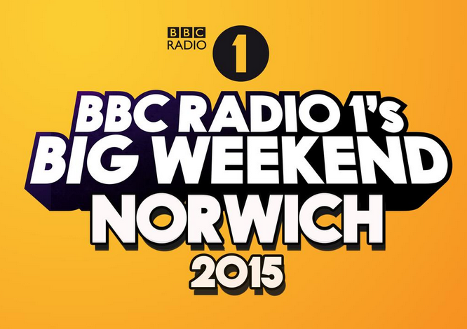 BBC Radio 1's big weekend logo