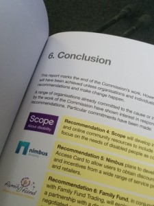image of the conclusion page of the report