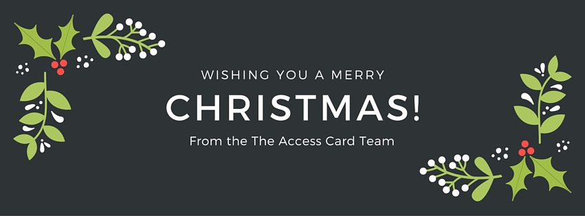 merry xmas Access Card