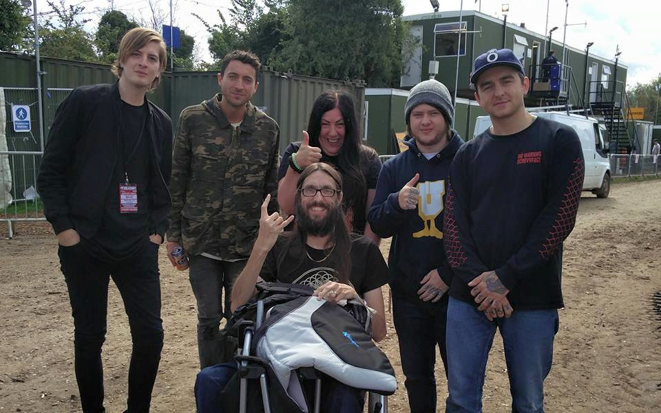 ade meets his favourite band