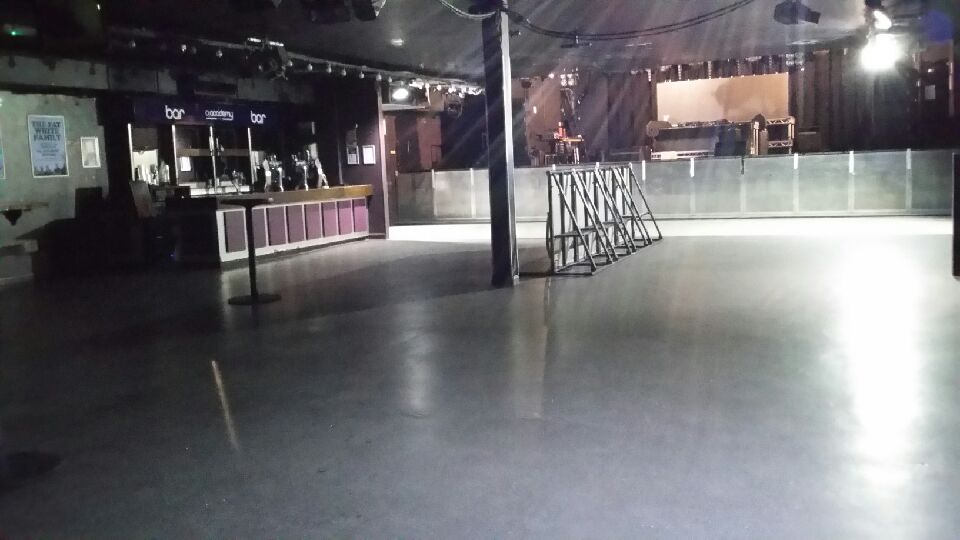 interior stage and floor area