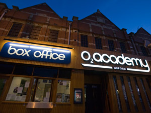 02 academy oxford exterior night-time