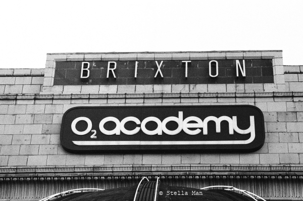 Brixton 02 academy black and white