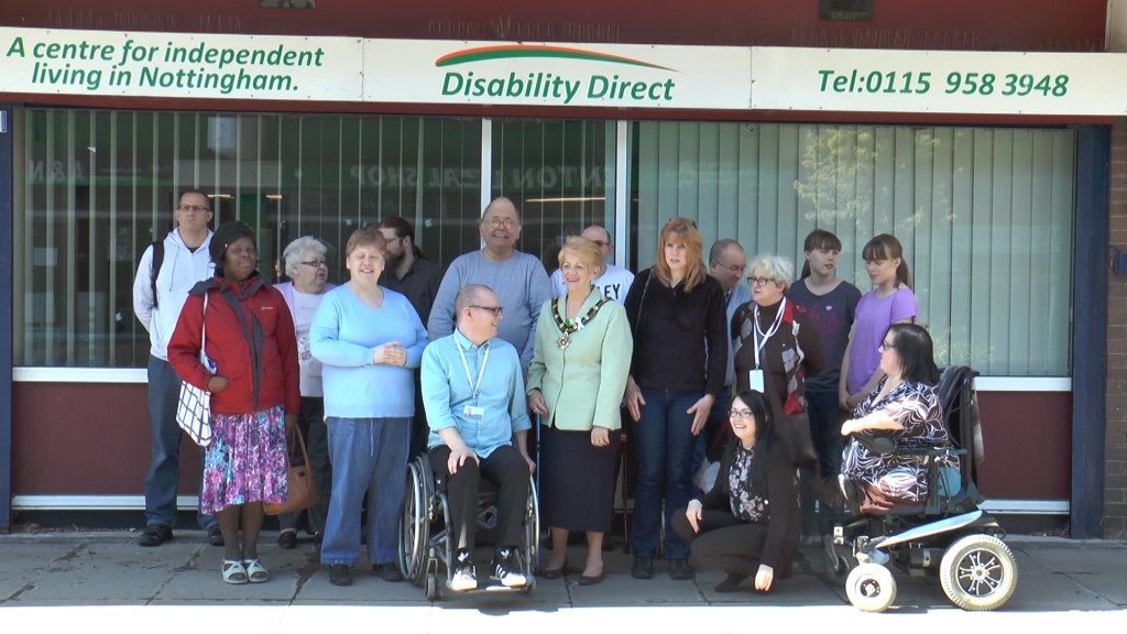 Disability Direct staff and old office