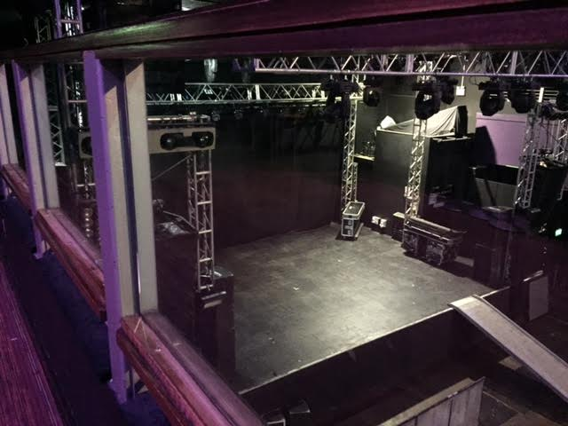 stage area from accessible balcony level view