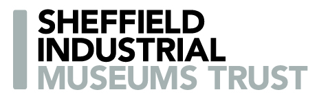 sheffield industrial museums trust logo black and grey font on white background