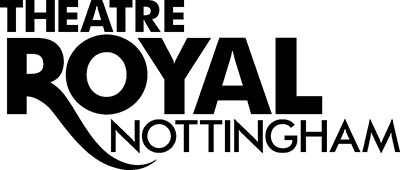 Theatre Royal Nottingham Black Font on White Background