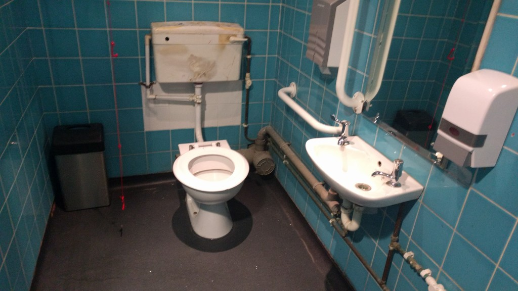 Accessible toilet.