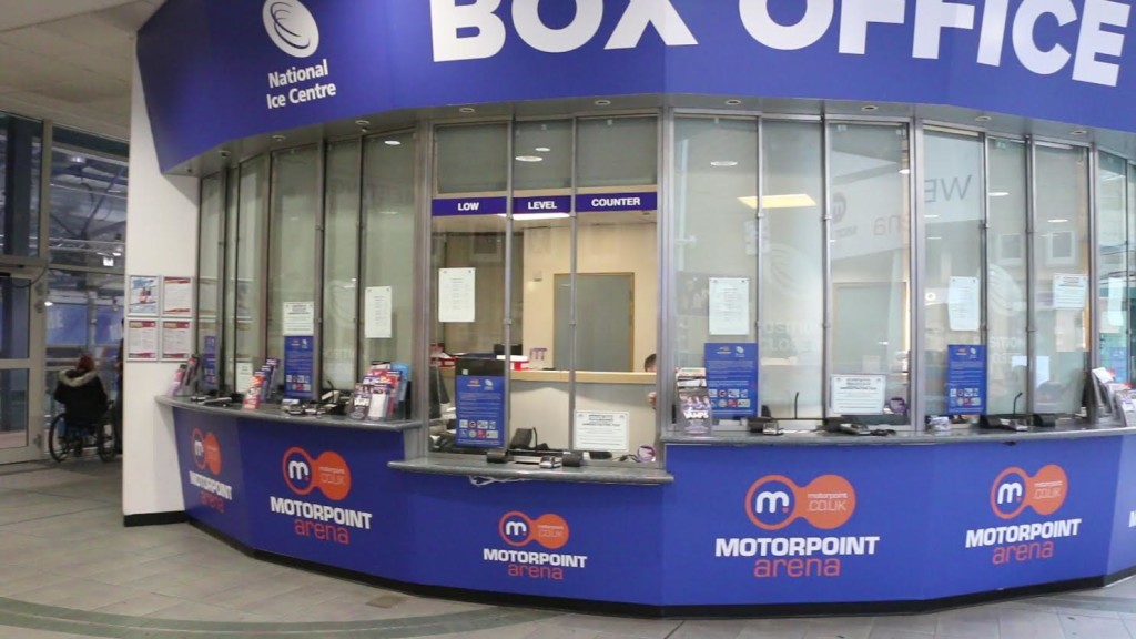 Interior Box office lowered counter