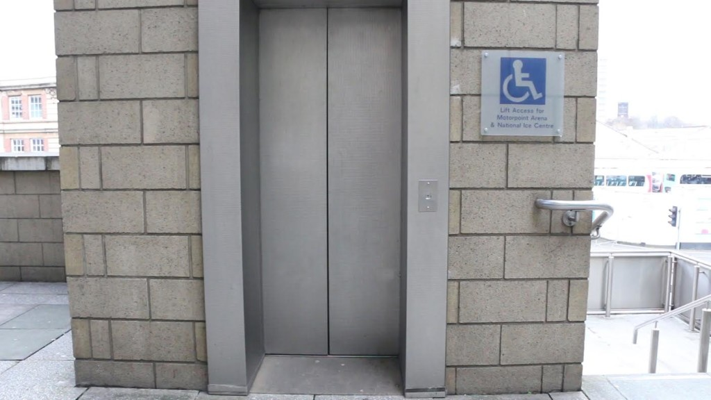 exterior accessible lift motorpoint arena