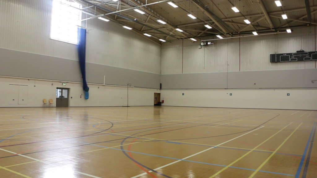 interior sports hall harvey haddon