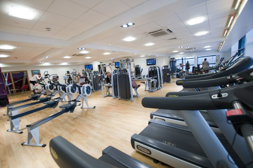 photo of interior gym and equipment