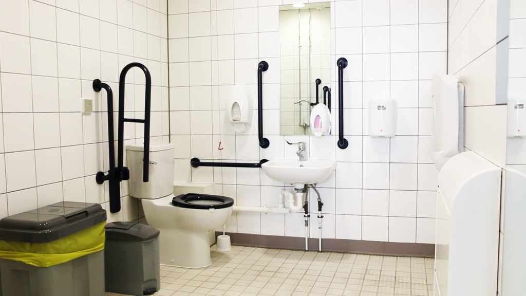 photo of accessible toilet