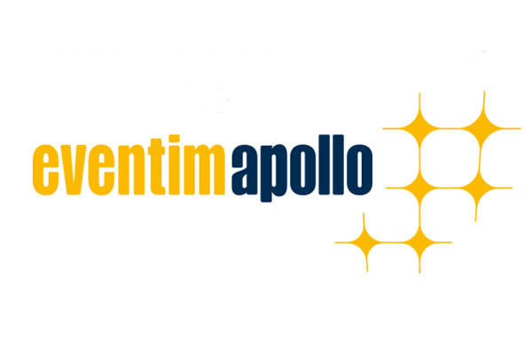 eventim apollo yell and blue logo with yellow stars