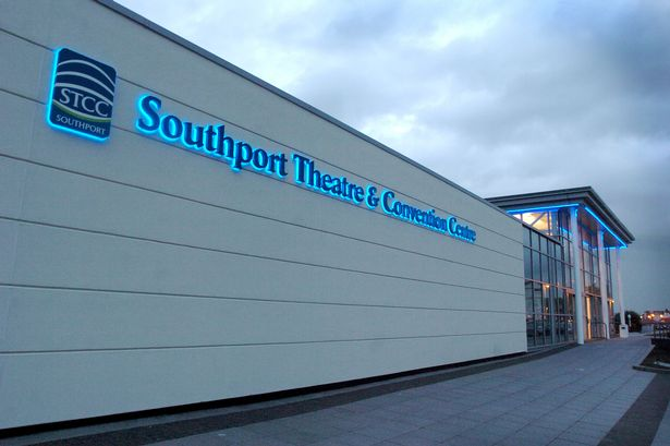 exterior evening photo southport theatre