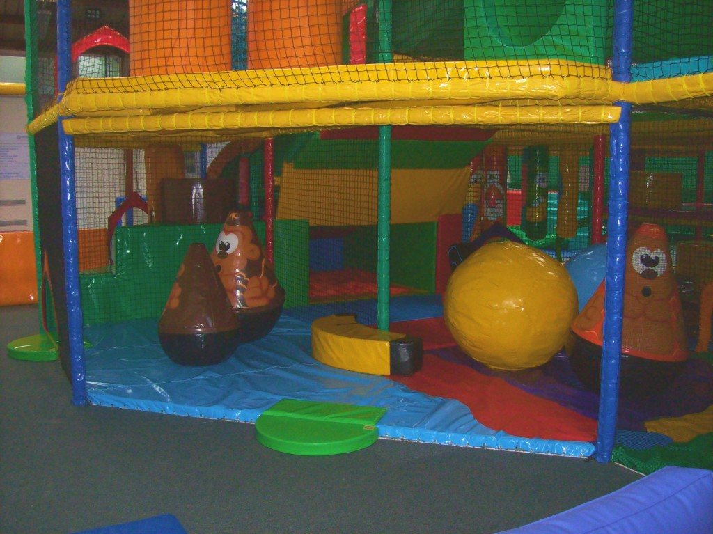 photo of inclusive soft play area