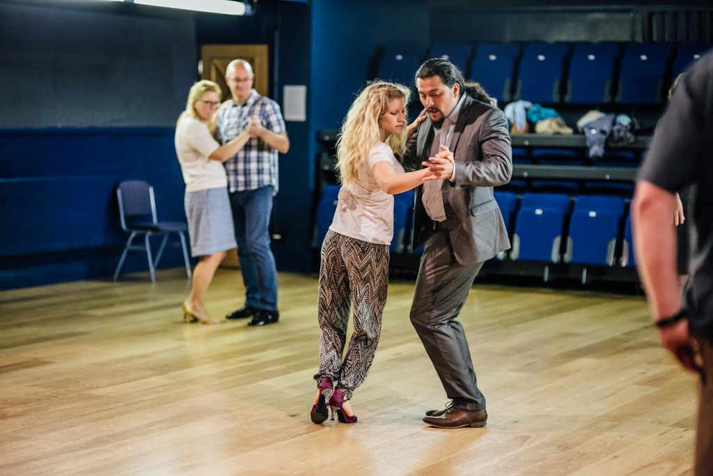 photograph of couples dancing