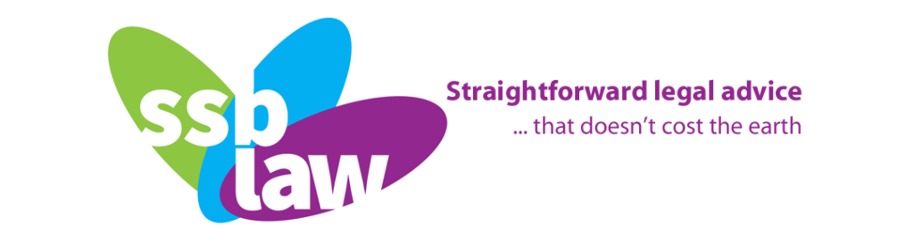 logo for straightforward legal advice, green blue and purple