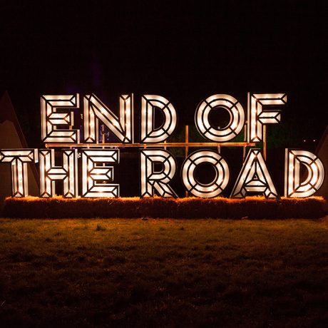 End of the Road Logo