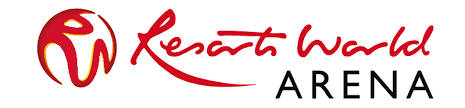 resorts world arena logo