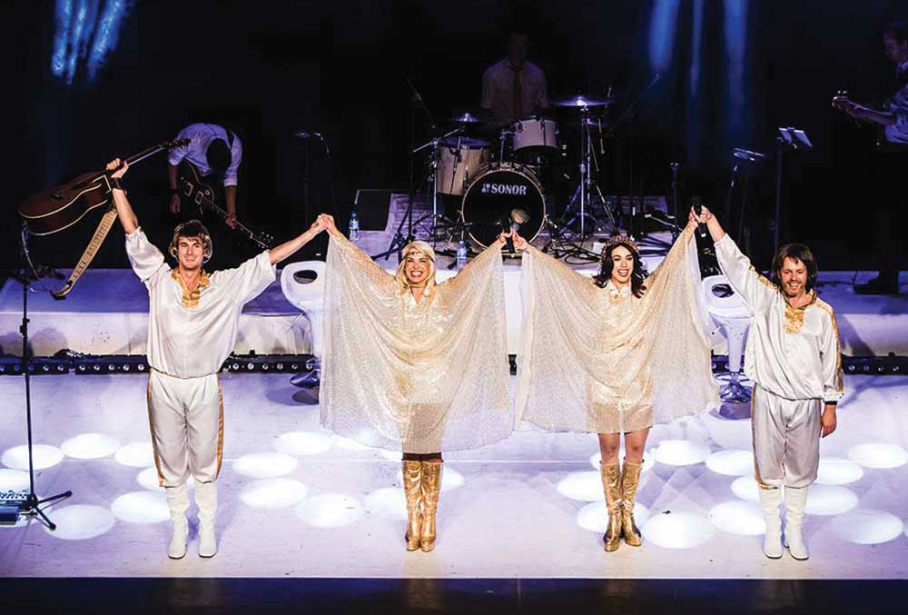 ABBA tribute band at The Legends Festival