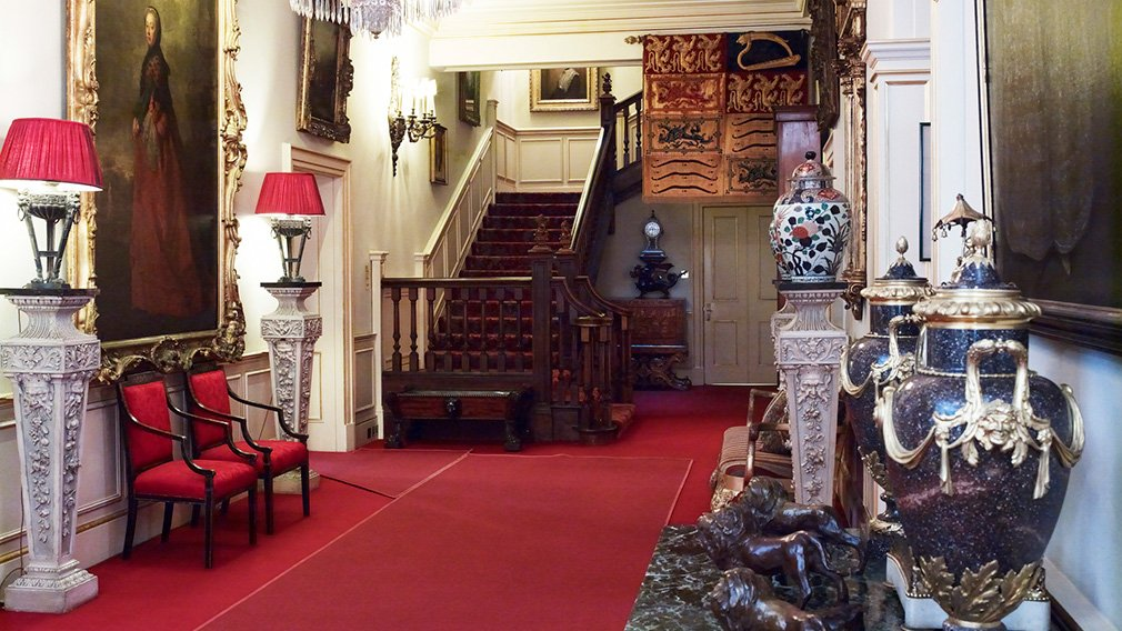 Inside Clarence House