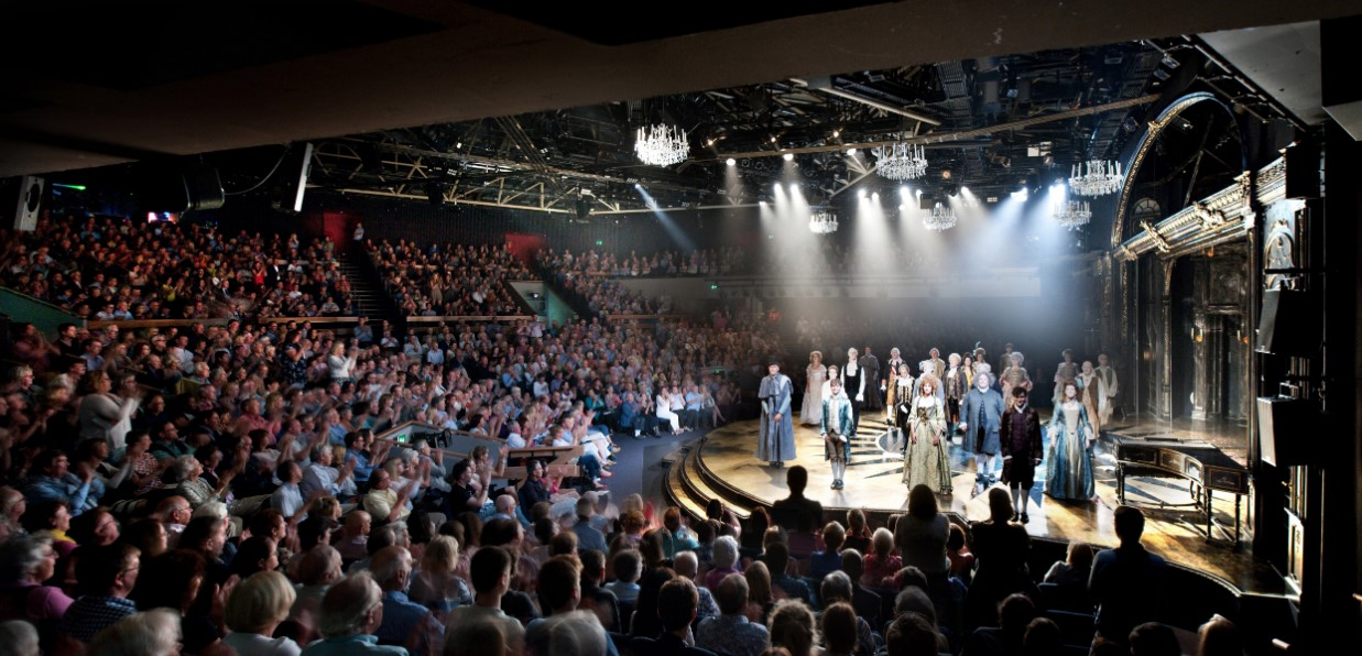 live performance at Chichester Festival Theatre