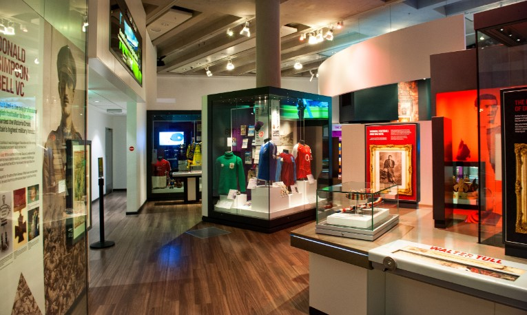National Football Museum Exhibit