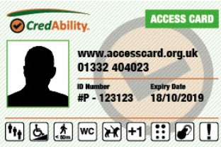 Access Card template