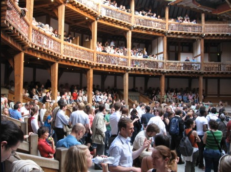 Inside Shakespeare's Globe