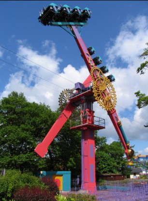 ride at Drayton Manor
