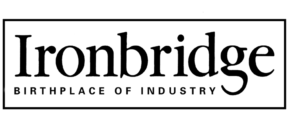 ironbridge birthplace of industry logo