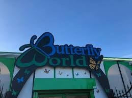 entrance to butterfly world
