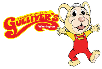 gulliver's world warrington logo
