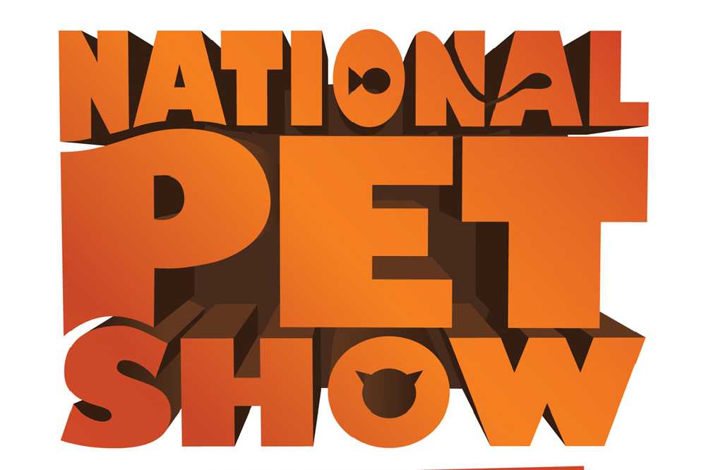 national pet show logo
