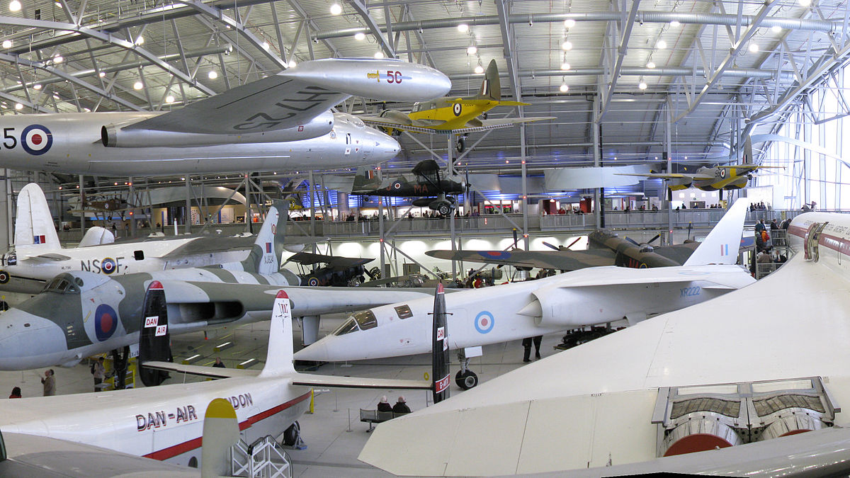 planes at imperial war museum duxford