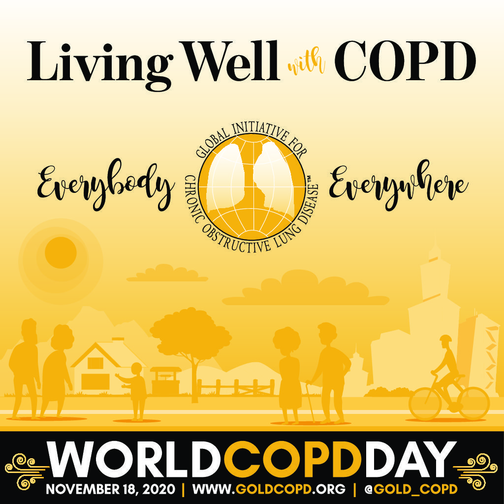 world copd day logo
