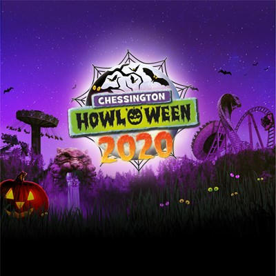 chessington world of adventures resort howloween 2020 logo