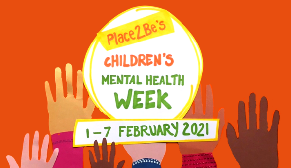 children's mental health week 2021 logo