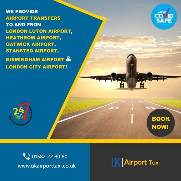 we provide airport transfers to and from (list of airports) visit www.ukairporttaxi.co.uk for more information