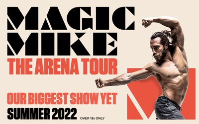 magic mike the arena tour poster