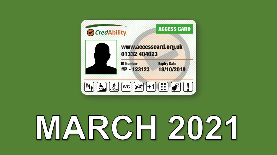 access card march 2021