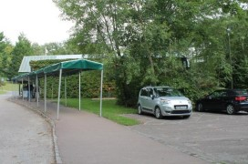 Main pathway from disabled car park to Visitor Reception