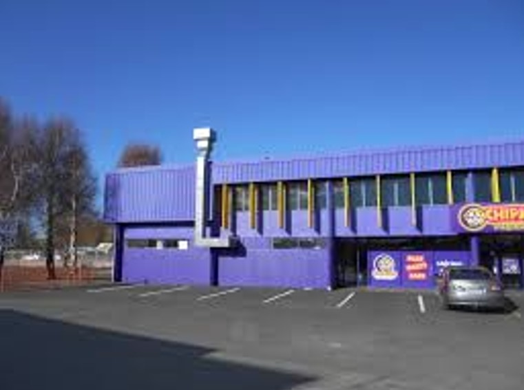 front view of chipmunks playland and cafe