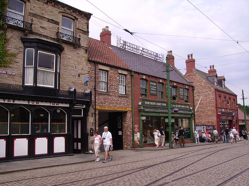 houses in the beamish museum