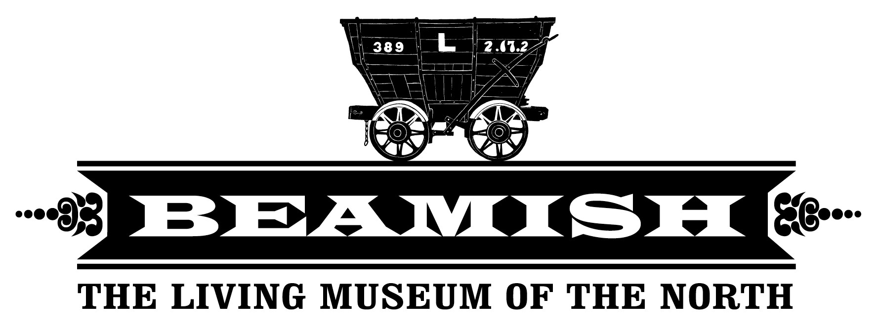 beamish the living museum of the north logo
