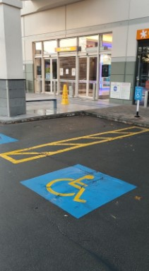 accessible parking at 2degrees
