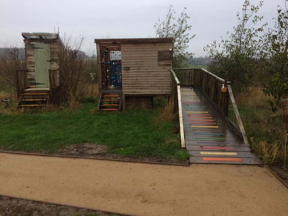 outdoor equipment at wellbeing at whistlewood